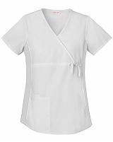 Cherokee Maternity Wrap Top (Medical Scrubs) 2892