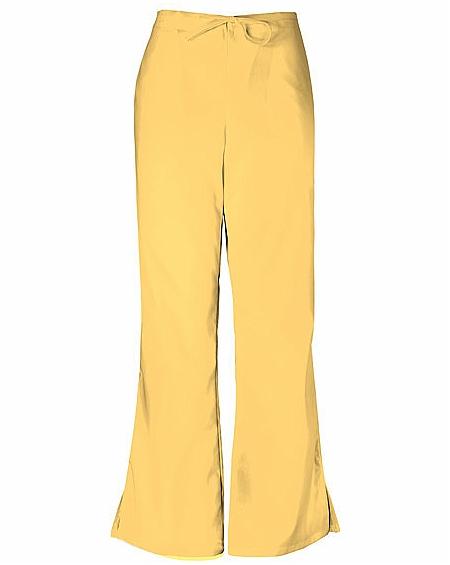 11f490ee360 Cherokee Workwear 4101P Flare Leg Drawstring Pant ...