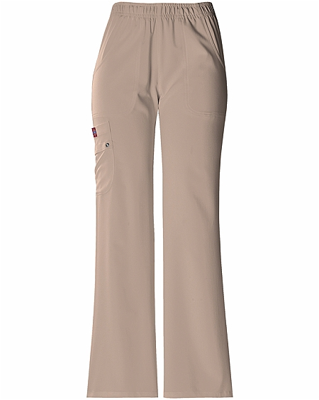 f428e245846 Dickies Xtreme Stretch 82012P Petite Elastic Waist Pull on Pant ...