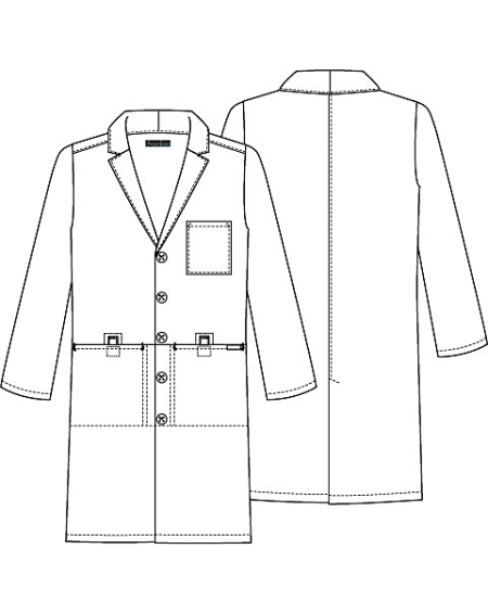 lab coat coloring pages - photo #9