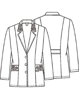 Medical Lab Coats Uniform Lab Jackets Medical Scrubs Black Lab