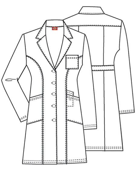 lab coat coloring pages - photo #44