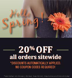 Hello Spring Sale!