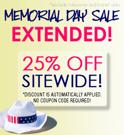 Memorial Day Sale Extended!