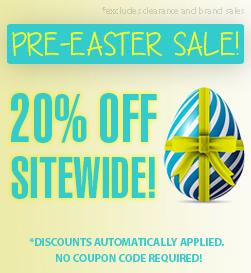 Pre Easter Sale!
